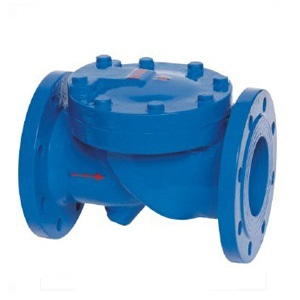 HC44X rubber disc swing check valve
