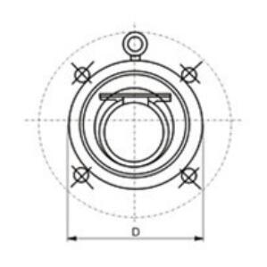 H74H wafer swing check valve