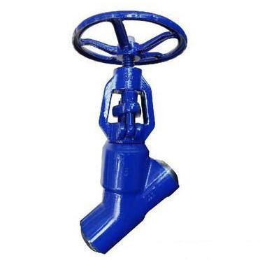 J65Y Y type high pressure globe valve