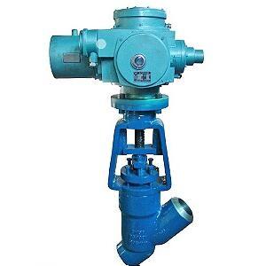 J965Y Electric Y type globe valve