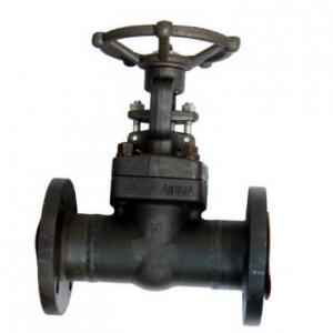 Forged A105 Gate valve flanged end