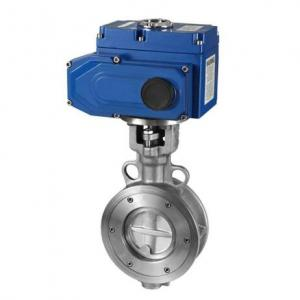 D973H Electric Wafer Butterfly Valve