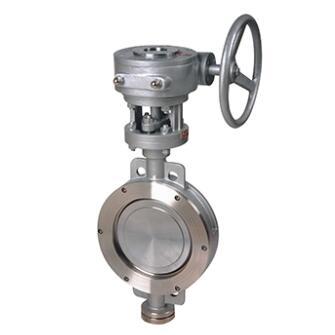D373W Wafer type butterfly valve