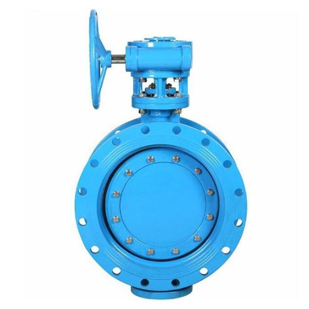 DN500 Double flanged butterfly valve