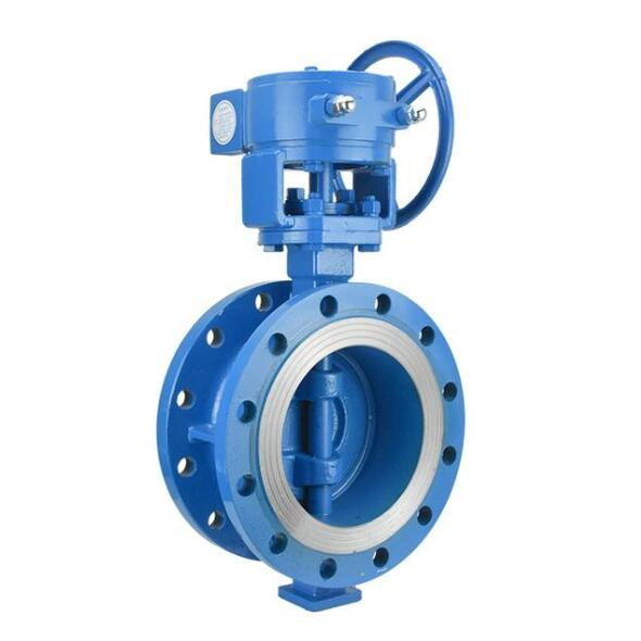 Triple eccentric butterfly valve DN600