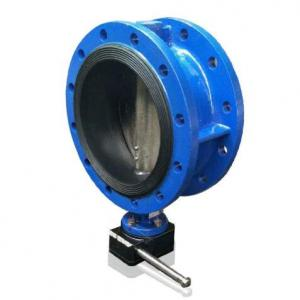 DN200 Rubber seat butterfly valve