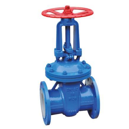 PTFE FEP PFA lined gate valve