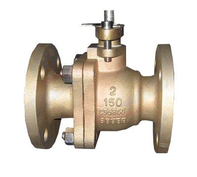 Aluminum bronze C95800 ball valve