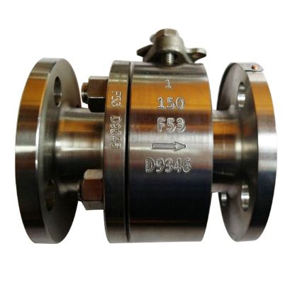A182 F53 Super Duplex ball valve