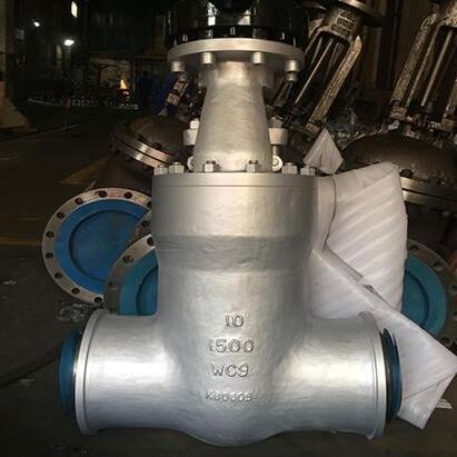 10 inch WC6 WC9 gate valve 1500LB