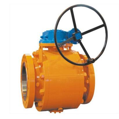 600LB Cast steel trunnion ball valve
