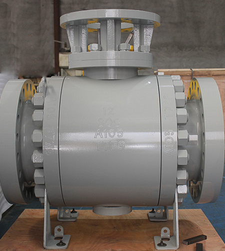 12 Inch trunnion mounted ball valve A105