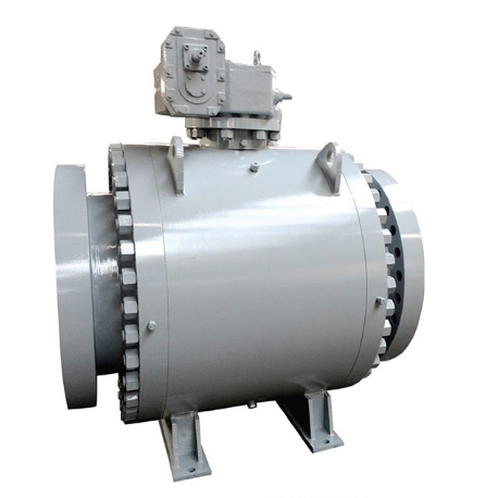 Forged trunnion ball valve 18 inch