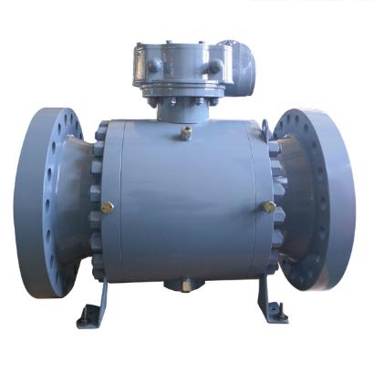 Cast steel 20 Inch trunnion ball valve