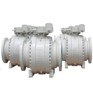 WCB A105 Trunnion ball valve 24 Inch