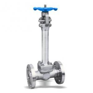 Stainless steel cryogenic gate valve