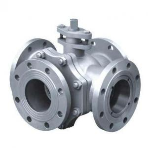 X double L 4 way ball valve