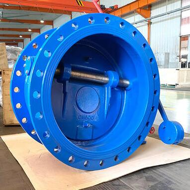 Hydraulic check valve with counterweight