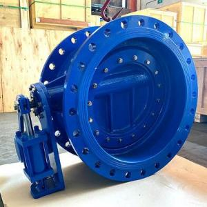 Butterfly Check Valve with Hydraulic Counter Weight